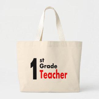 1st Grade Teacher Tote Bags