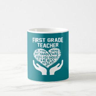 1st Grade Teacher Coffee Mug