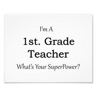 1st. Grade Teacher Photograph