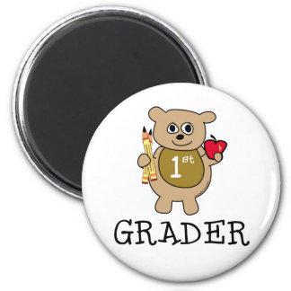 1st Grader 6 Cm Round Magnet
