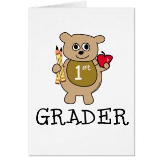 1st Grader Card