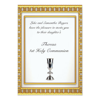 1st Holy Communion Party Invitation Announcements