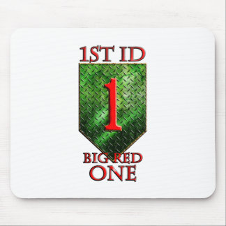 1st ID Big Red One Mouse Pad