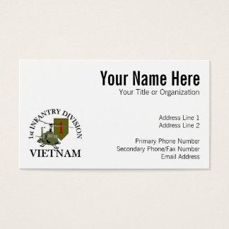 1st ID Vietnam Business Card