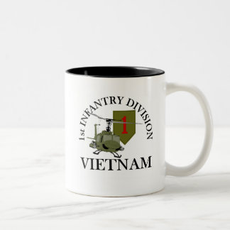 1st ID Vietnam Two-Tone Coffee Mug
