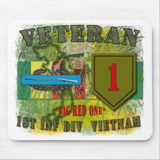 1st Inf Div-Vietnam Mouse Mat