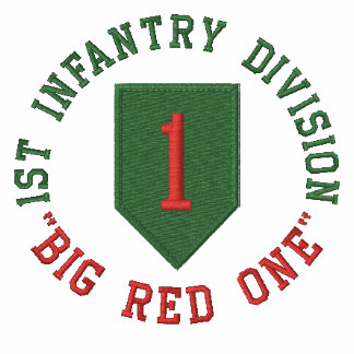 """1st Infantry """"Big Red One"""" Polos"""