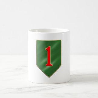 1st Infantry Division Basic White Mug