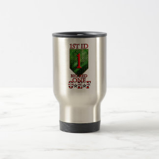 1st Infantry Division Big Red One OEF Stainless Steel Travel Mug