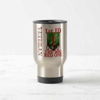 1st Infantry Division Big Red One OEF Travel Mug