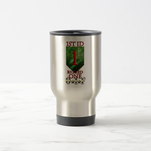 1st Infantry Division Big Red One OIF Mugs