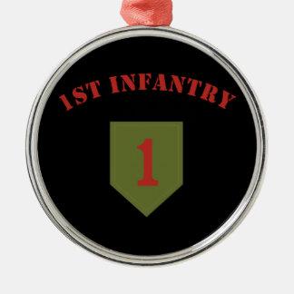 1st Infantry Division Christmas Ornament