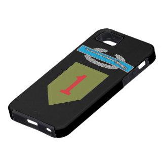 1st Infantry Division CIB iPhone 5 Case