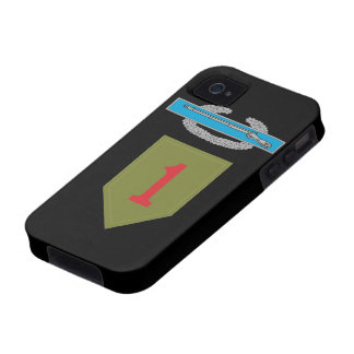 1st Infantry Division CIB Case-Mate iPhone 4 Case
