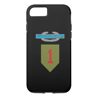 1st Infantry Division CIB iPhone 7 Case
