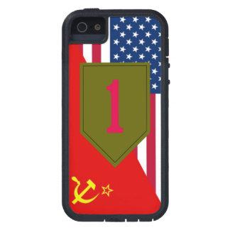 """1st Infantry Division """"Cold War Paint Scheme"""" iPhone 5 Case"""