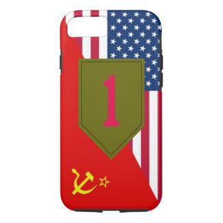 """1st Infantry Division """"Cold War Paint Scheme"""" iPhone 7 Case"""