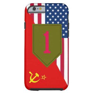 """1st Infantry Division """"Cold War Paint Scheme"""" Tough iPhone 6 Case"""