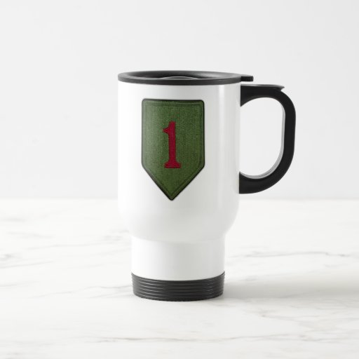 1st Infantry Division Fort Riley Patch Mug