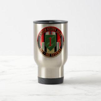 1st Infantry Division OEF OIF Veteran Stainless Steel Travel Mug
