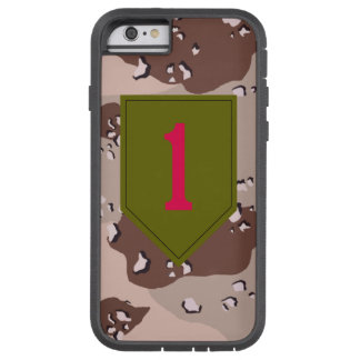 """1st Infantry Division """"The Big Red One"""" Desert Tough Xtreme iPhone 6 Case"""