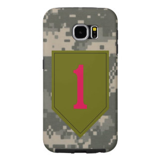 "1st Infantry Division ""The Big Red One"" Digital Samsung Galaxy S6 Cases"