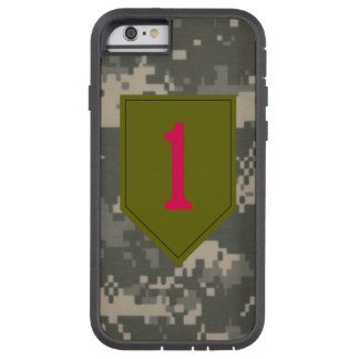 """1st Infantry Division """"The Big Red One"""" Digital Tough Xtreme iPhone 6 Case"""
