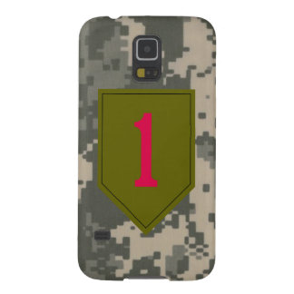 """1st Infantry Division """"The Big Red One"""" Galaxy S5 Case"""