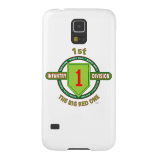 """1ST INFANTRY DIVISION """"THE BIG RED ONE"""" GALAXY S5 CASES"""