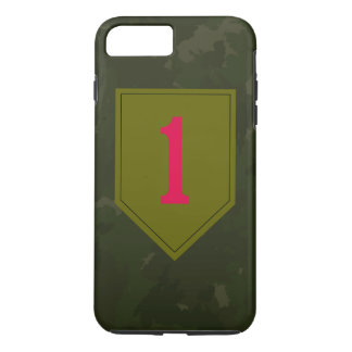 """1st Infantry Division """"The Big Red One"""" iPhone 7 Plus Case"""