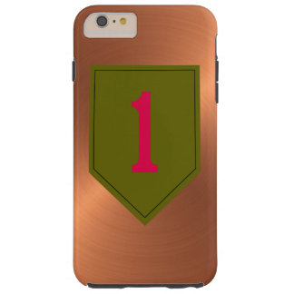"""1st Infantry Division """"The Big Red One"""" Tough iPhone 6 Plus Case"""