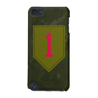 "1st Infantry Division ""The Big Red One"" WW II Camo iPod Touch 5G Cases"