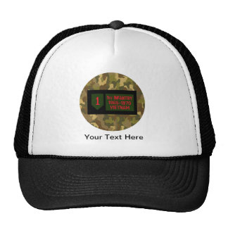 1st Infantry Division Vietnam Hat