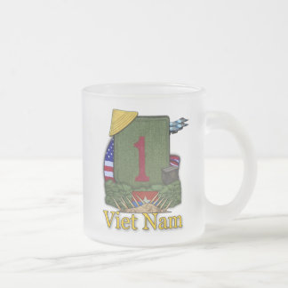 1st infantry division vietnam patch frosty beer mu frosted glass mug