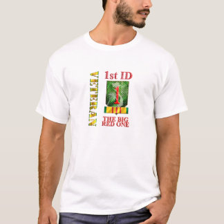 1st Infantry Division VIETNAM VETERAN T-Shirt