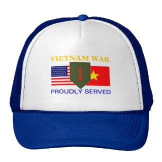 1ST INFANTRY VIETNAM HAT