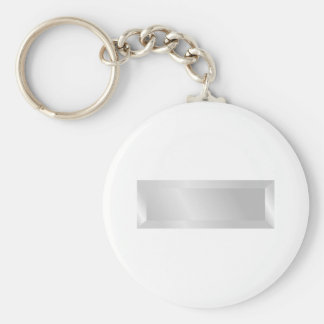 1st Lieutenant Basic Round Button Key Ring