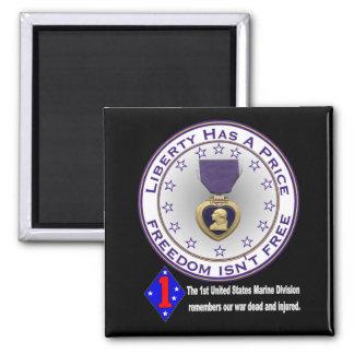 1st Marine Div Remembers DARK Magnet