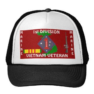 1st Marine Div Vietnam 1/r Cap