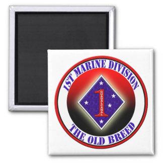 1st Marine Division Refrigerator Magnet