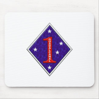 1st Marine Division Mouse Pad