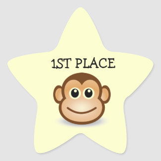 1ST Place kids star Stickers