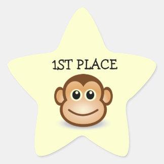 1ST Place kids star Stickers