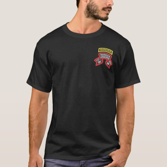 1st Ranger Bn (old style) + Tab T-shirts