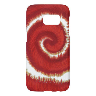 1st-Root Chakra Red Spiral Artwork #1