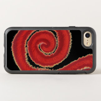 1st-Root Chakra Red Spiral Artwork #1 OtterBox Symmetry iPhone 8/7 Case