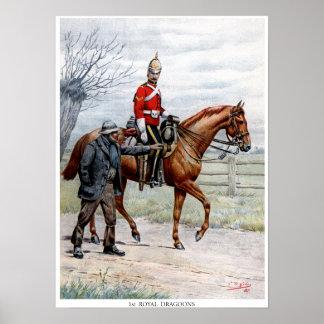 1st Royal Dragoons Posters