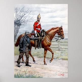 1st Royal Dragoons Poster