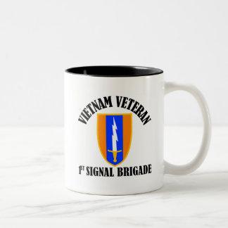 1st Sig Bde - Vietnam Veteran Coffee Mug