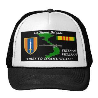 "1st Signal Brigade""1st to Communicate"" Ball Caps Cap"